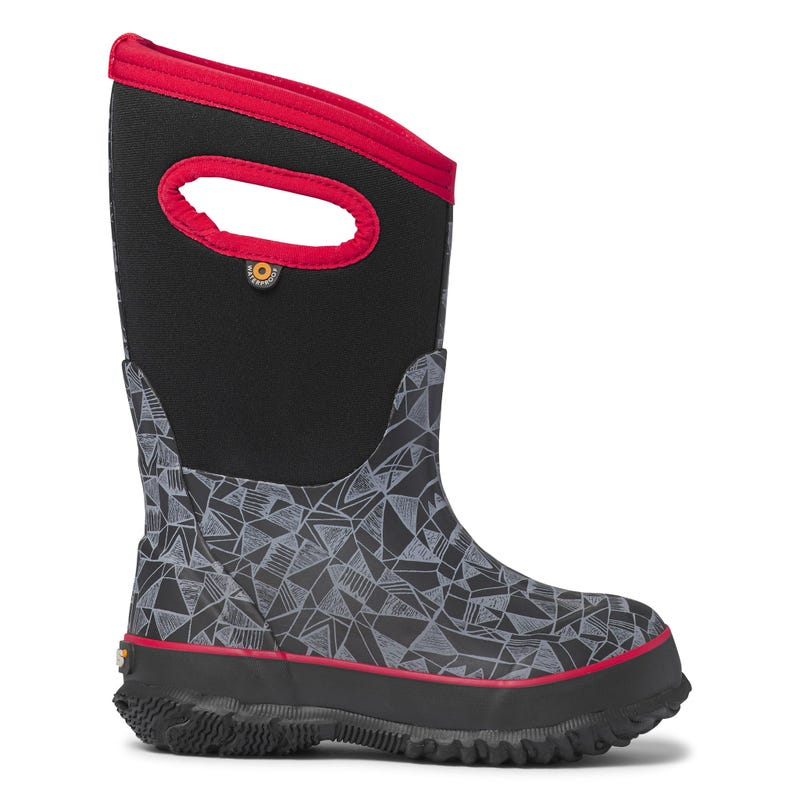 Classic Maze Winter Boots Sizes 7-6
