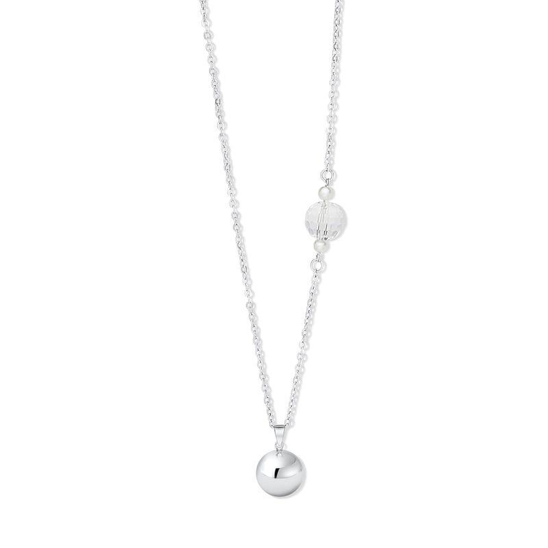 Pregnancy Jewelry Bola - Silver 925 / Swarovski Crystal