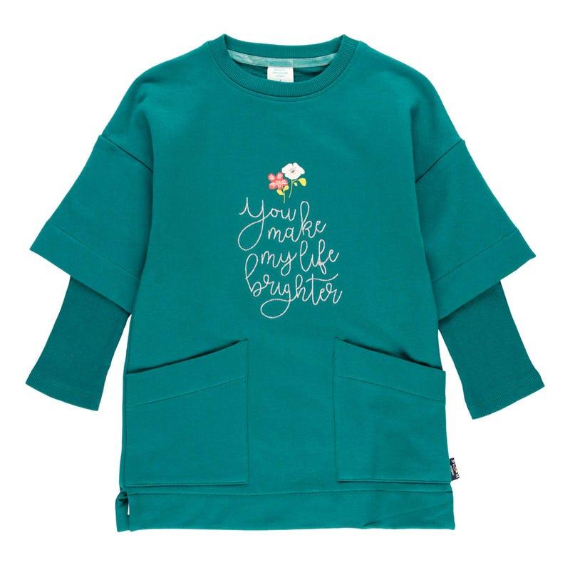 Bloom Sweat Dress 4-10y