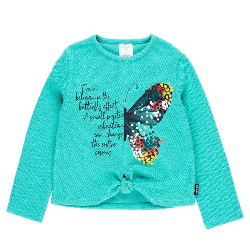 Bloom Butterfly Sweater 4-10y