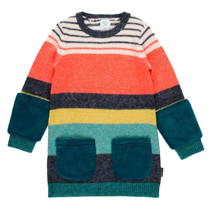 Bloom Knit Dress 4-10y