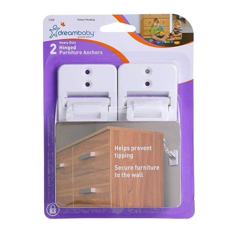 Hinged Furniture Anchors-2pk