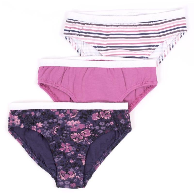 Garden Panties 2-12y - Set of 3