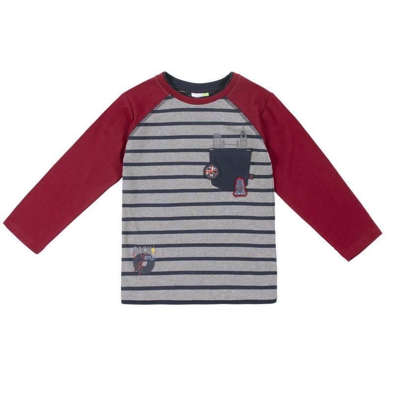 Rock Raglan Long Sleeves T-Shirt 7-12y