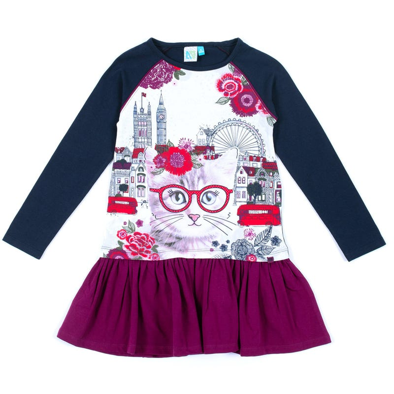 Robe Chat Londres 2-6ans