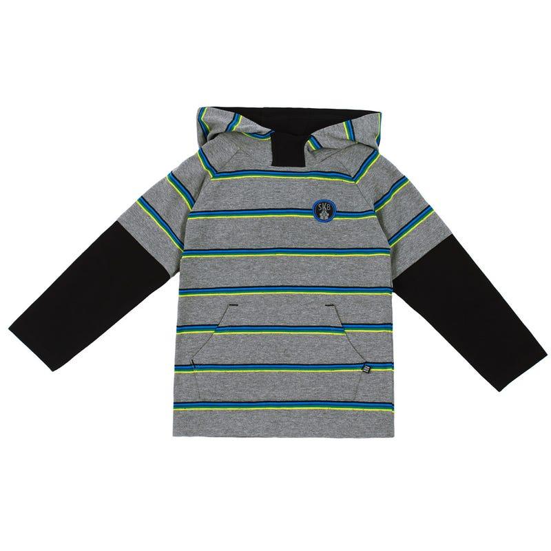 Skate Hooded Long Sleeves T-Shirt 7-12y