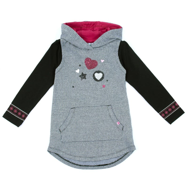 Circus Hooded Tunic 7-12y