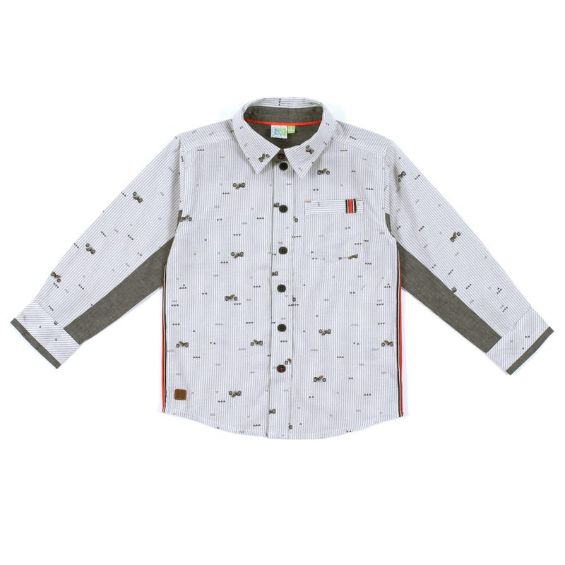 Nomad Long Sleeves Shirt 7-12y