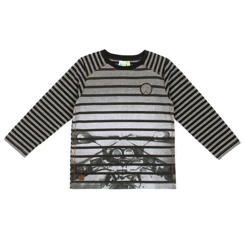 Nomad Striped Long Sleeves T-Shirt 7-12y