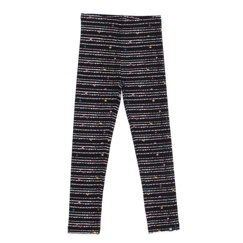 Peru Striped Leggings 7-12y