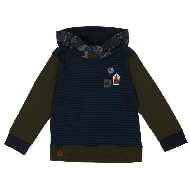 Scout Hooded L/S T-Shirt 7-12