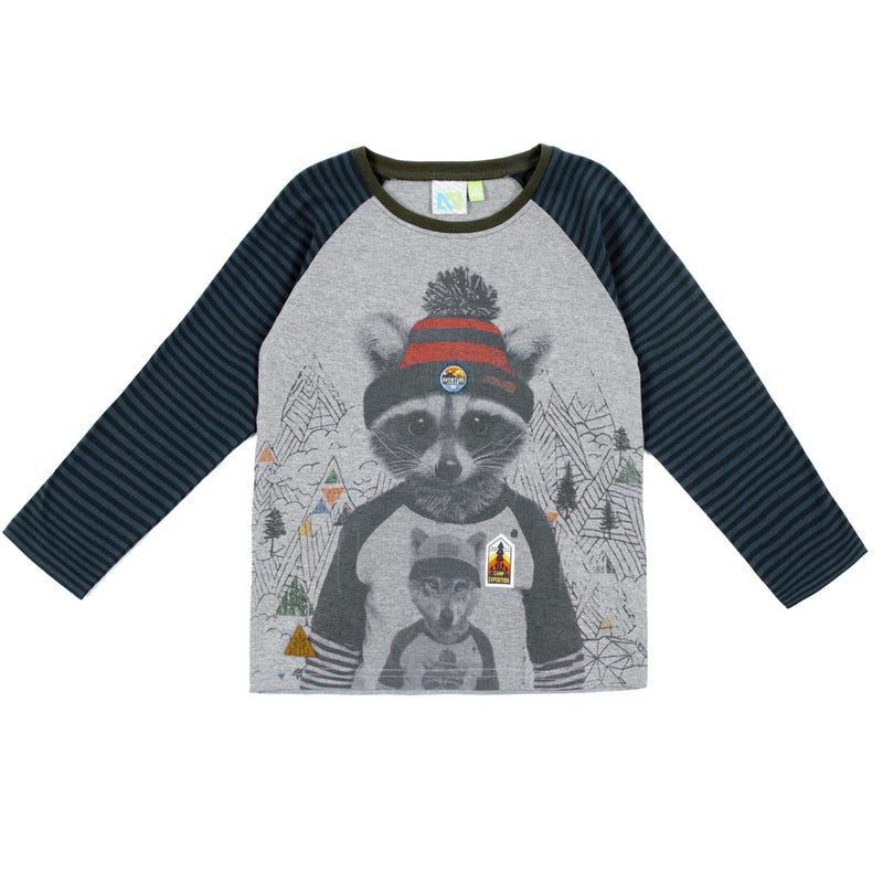 Scout Racoon Long Sleeves T-Shirt 2-6y