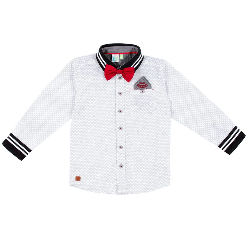 Chemise Manches Longues Chic 7-12ans