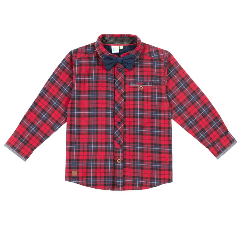 Chic Long Sleeves Cottage Shirt 7-12y