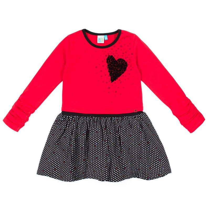 Heart Dress 2-6y