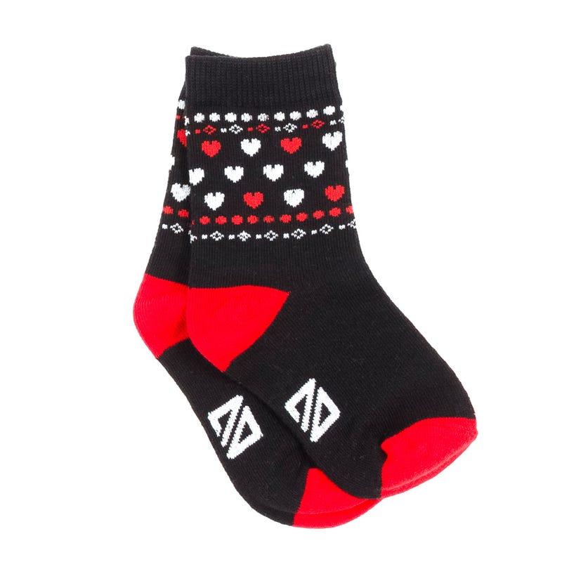 Heart Socks 8-12y