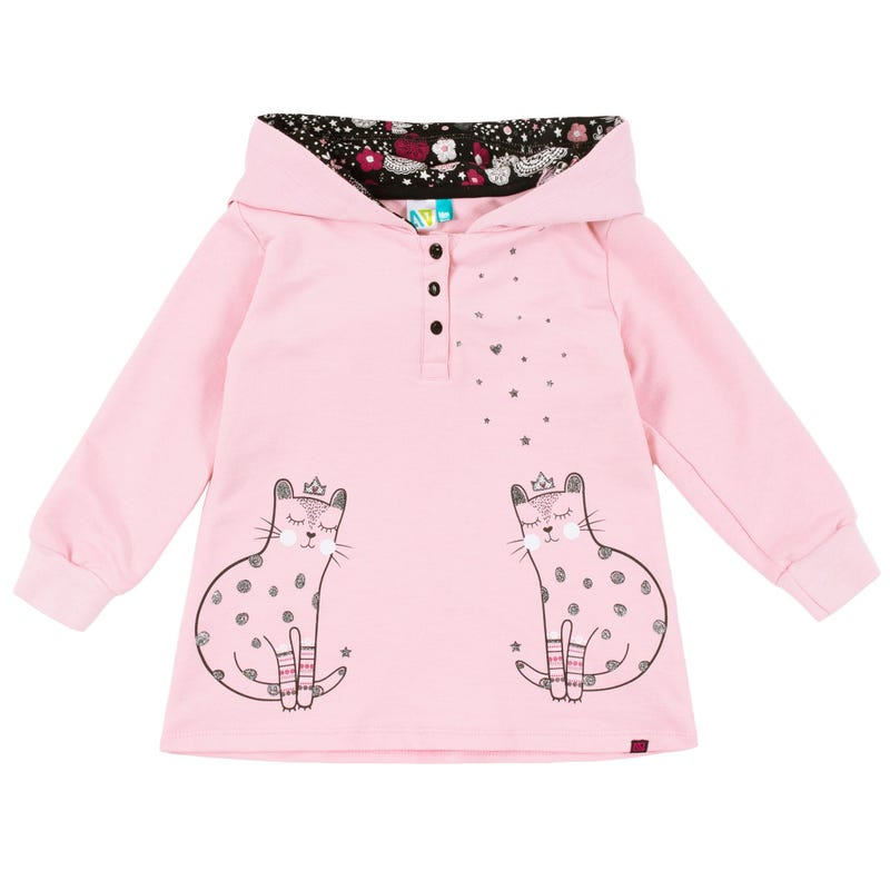 Circus Hooded Tunic 3-24m