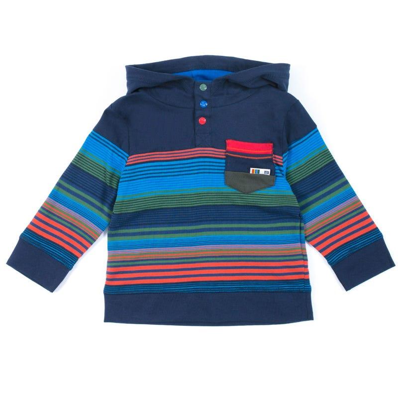 T-Shirt à Manches Longues Capuchon Scout 3-24mois