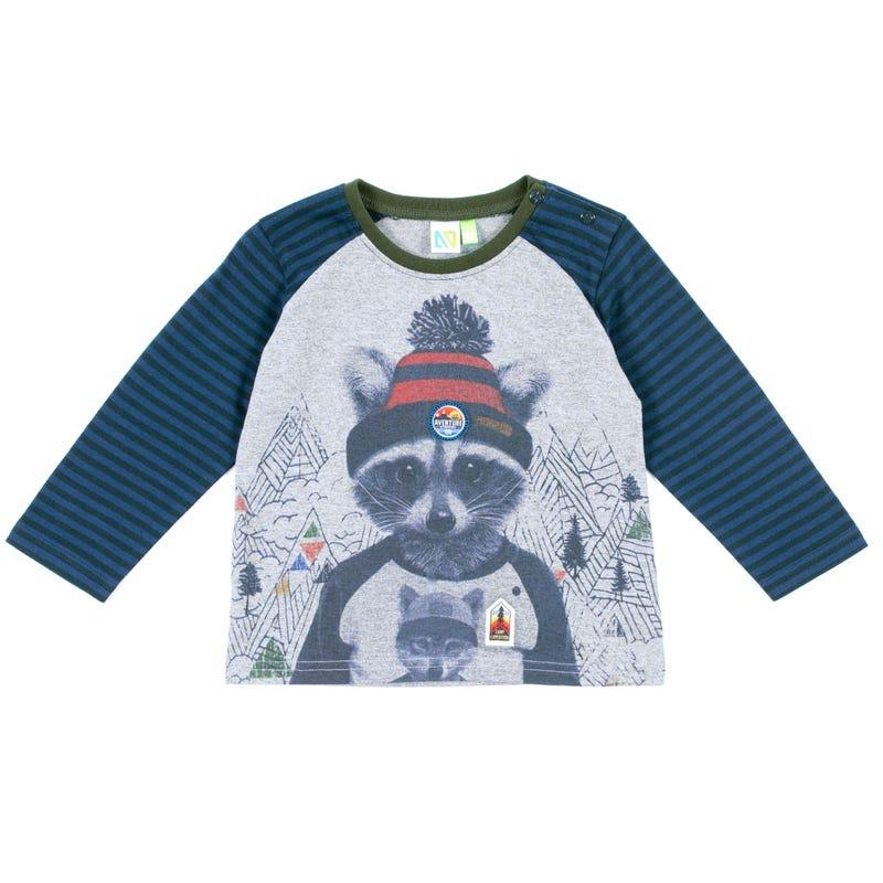 T-Shirt à Manches Longues Raton Scout 3-24mois