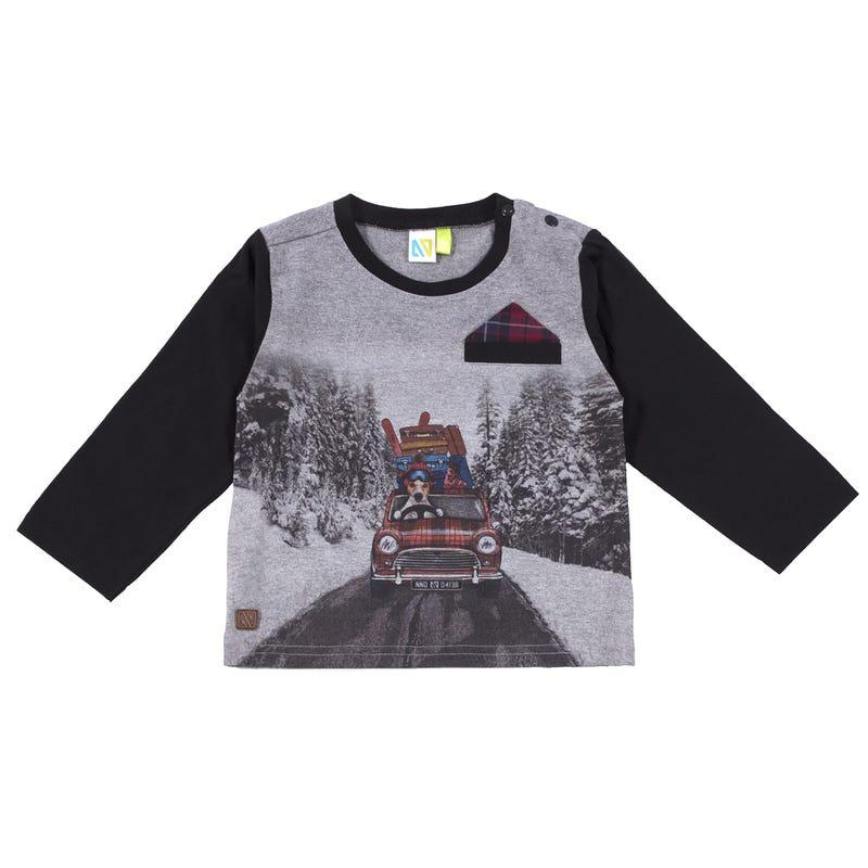 T-Shirt à Manches Longues Chic 3-24mois
