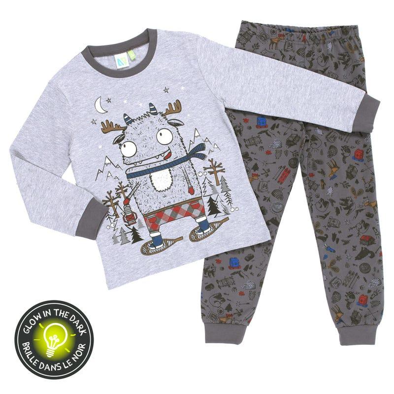 Caribou Pajamas 7-12y