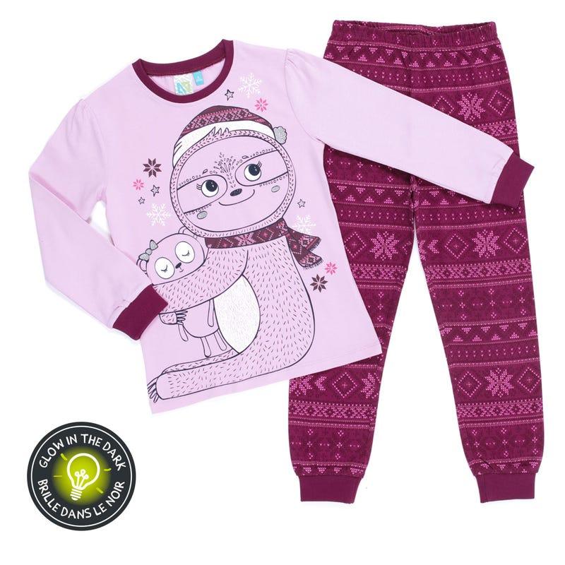 Lemur Pajamas 2-6y