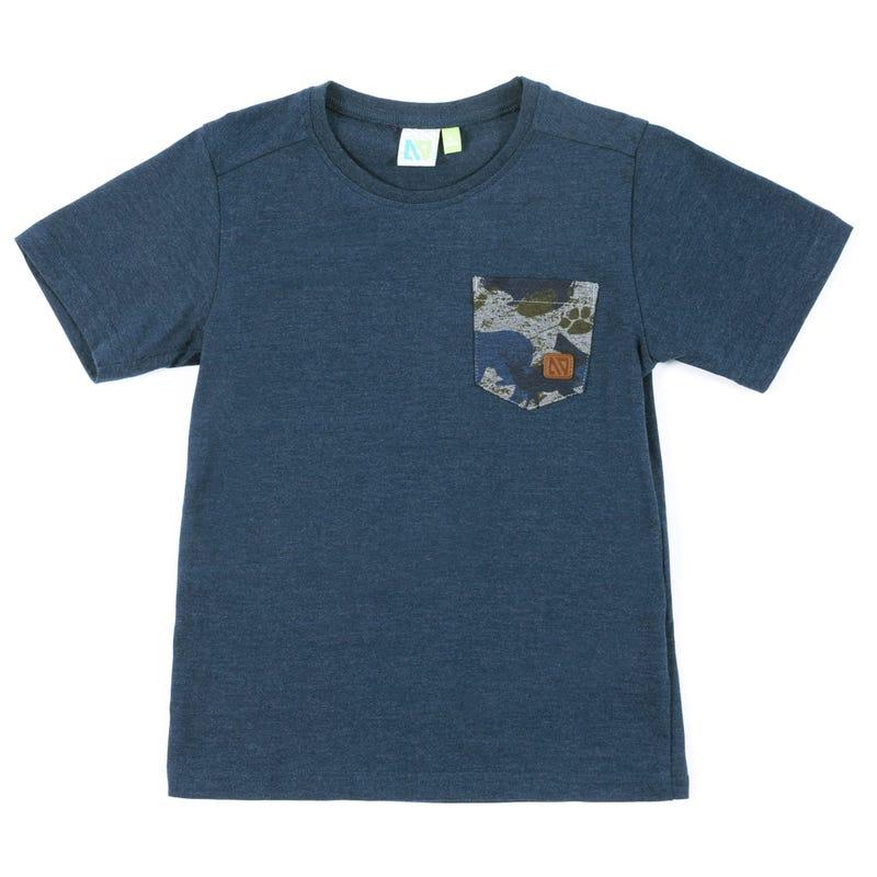 T-Shirt Camo 7-10ans