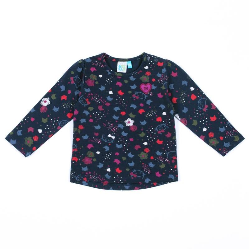Kitten L/S T-Shirt 3-24m