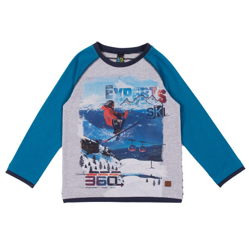 T-Shirt Raglan Pro des Pentes