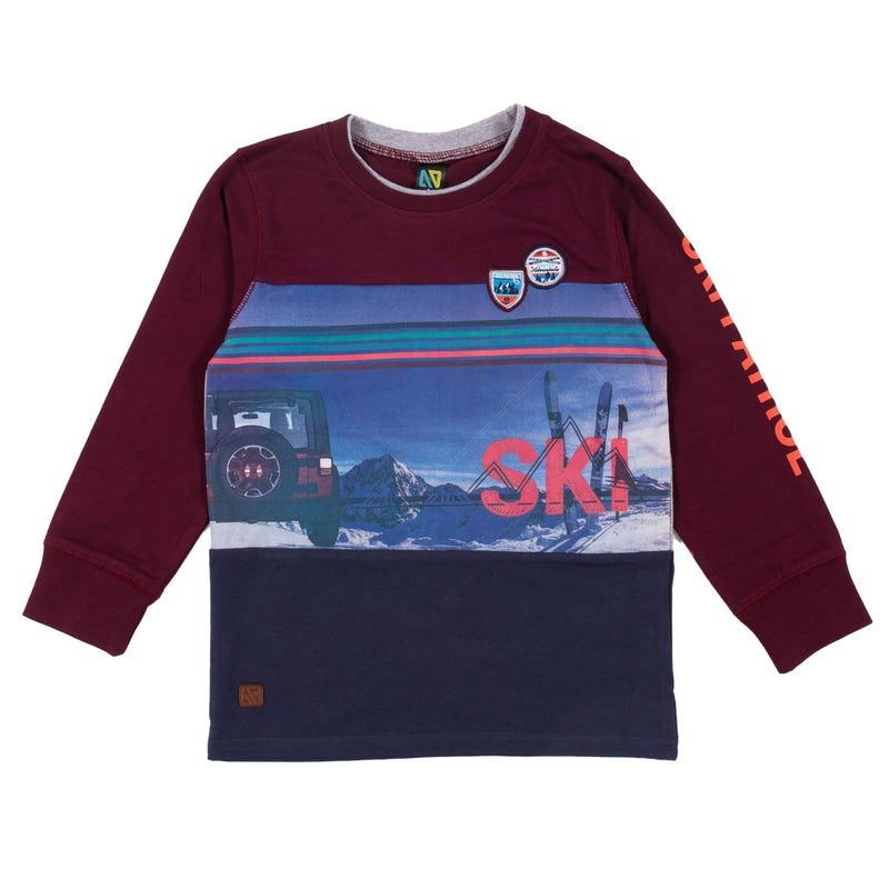 T-Shirt Ski Pro des Pentes 2-6ans