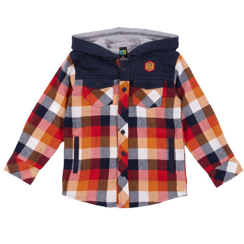 Banff Hooded Shirt 2-6