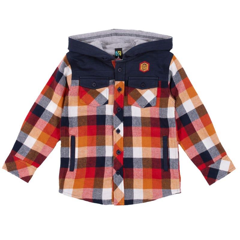 Banff Hooded Shirt 7-12