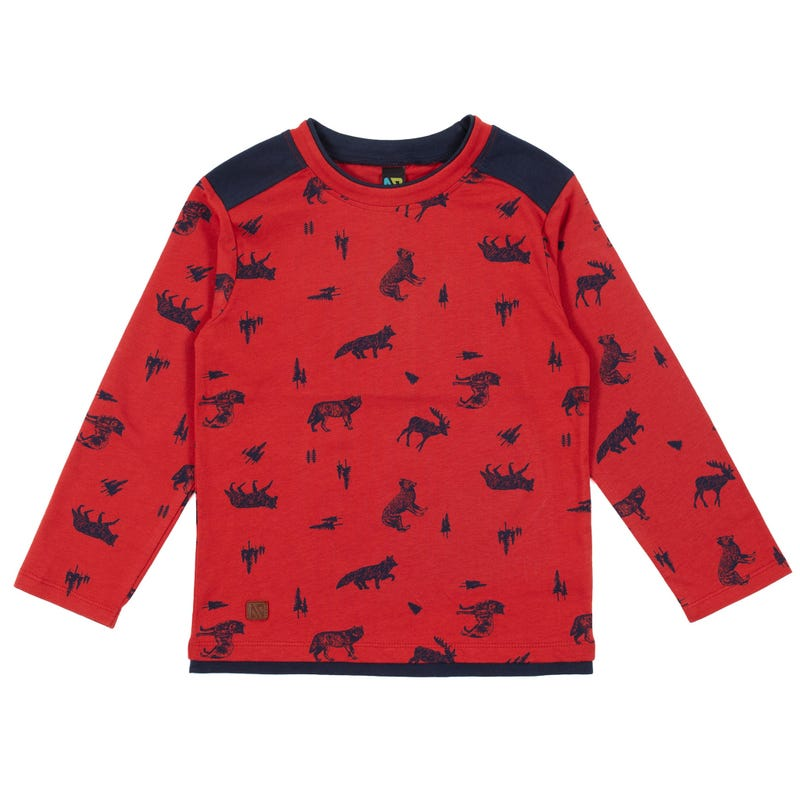 Banff printed T-Shirt 7-12