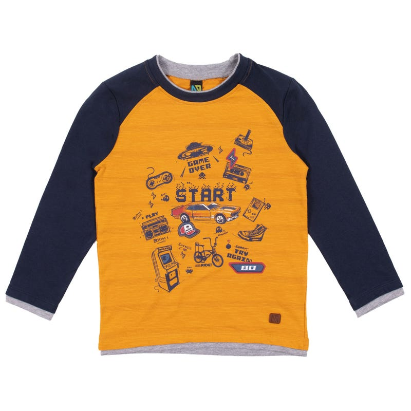 Banff Raglan T-Shirt 7-12