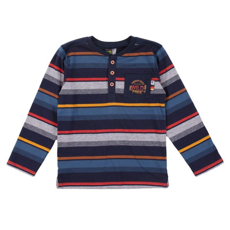 Banff Henley T-Shirt 7-12