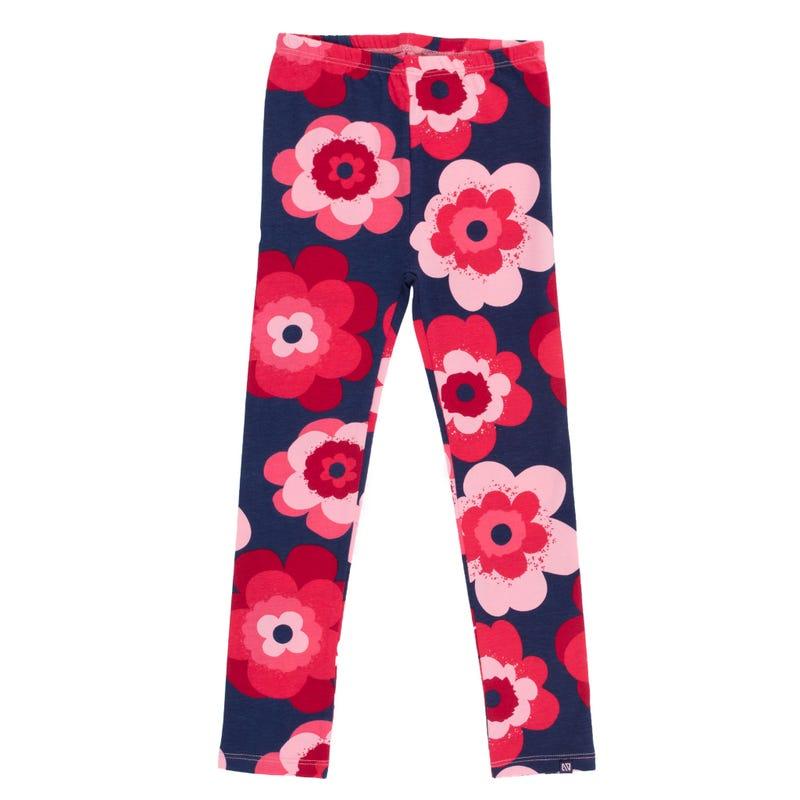 Retro Pop Flowers Leggings 2-6