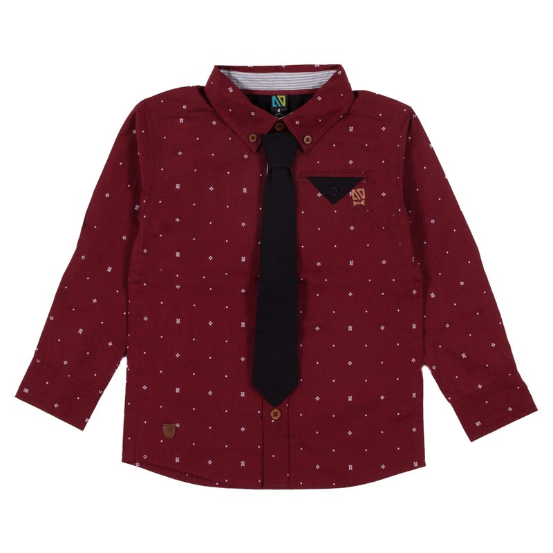 Chemise Pois Gentleman 2-6ans
