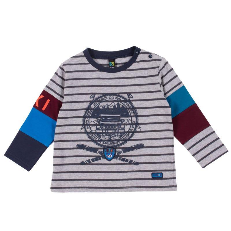 T-Shirt Rayé Pente 3-24mois