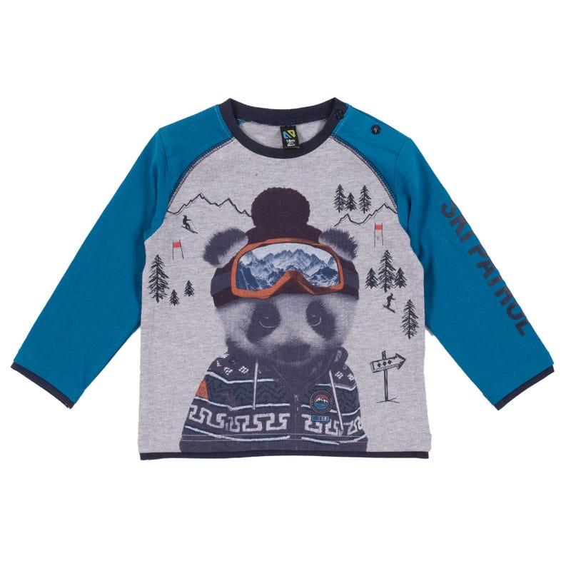T-Shirt Raglan Pente 3-24mois
