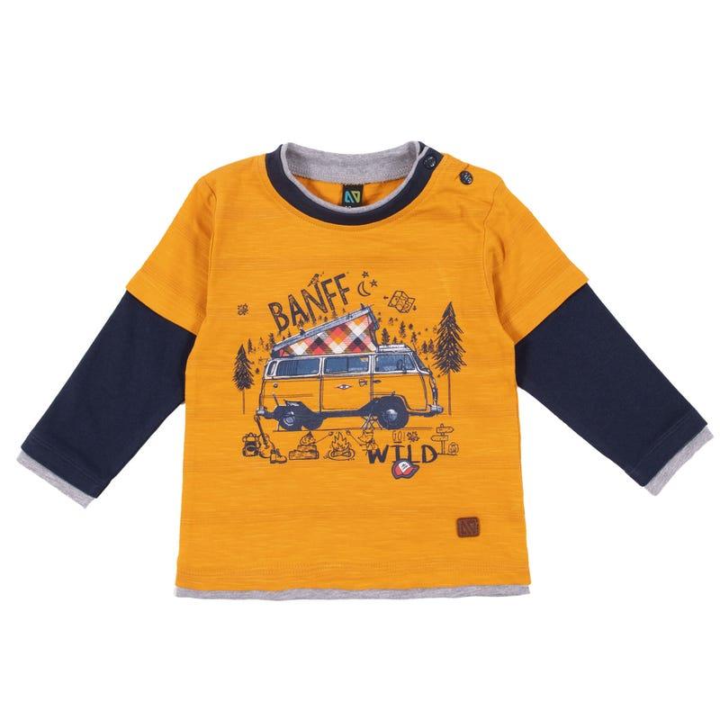 T-Shirt Autour du Feu 3-24mois