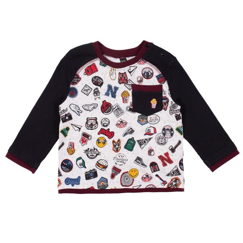 T-Shirt Raglan Chalet 3-24mois