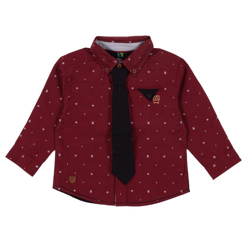 Chic Dots Shirt 3-24m