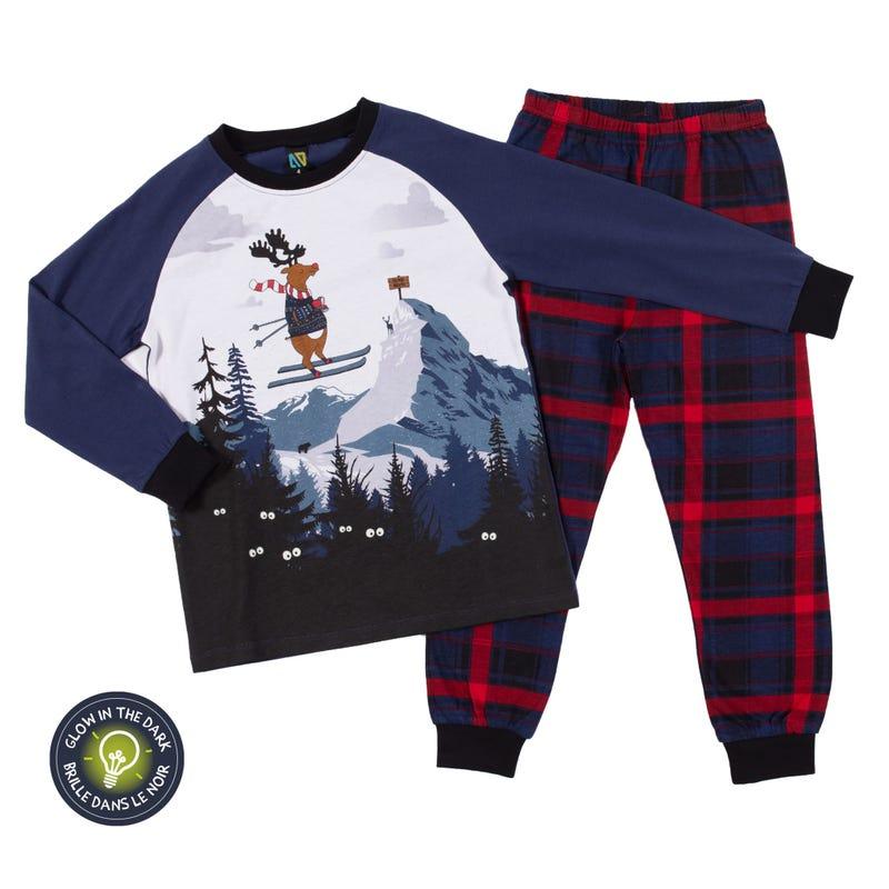 Pyjama Orignal Ski 7-12ans