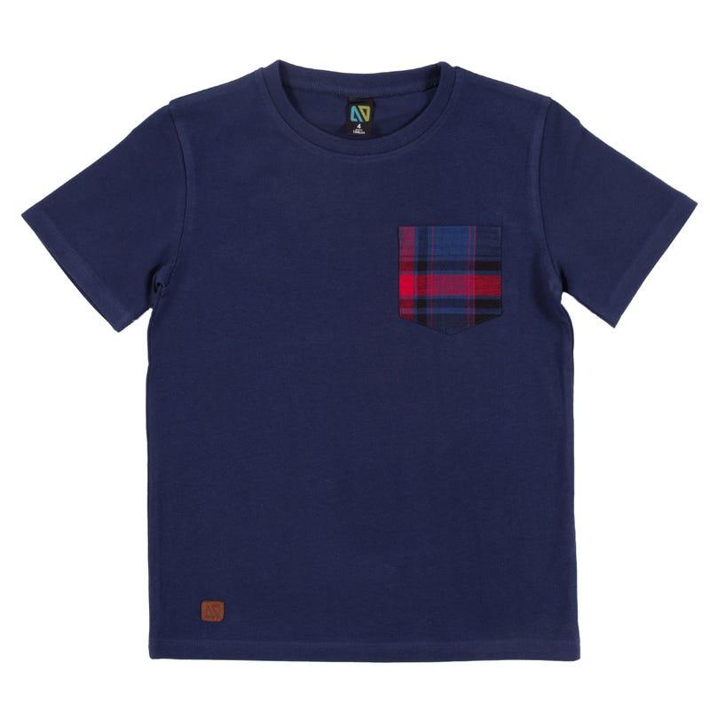 T-Shirt Carreaux Vacances 2-6ans