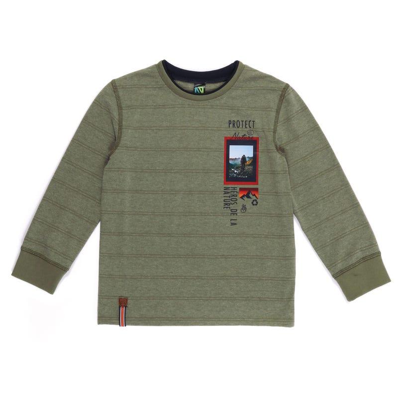 T-Shirt Rayé Gardiens 7-12ans