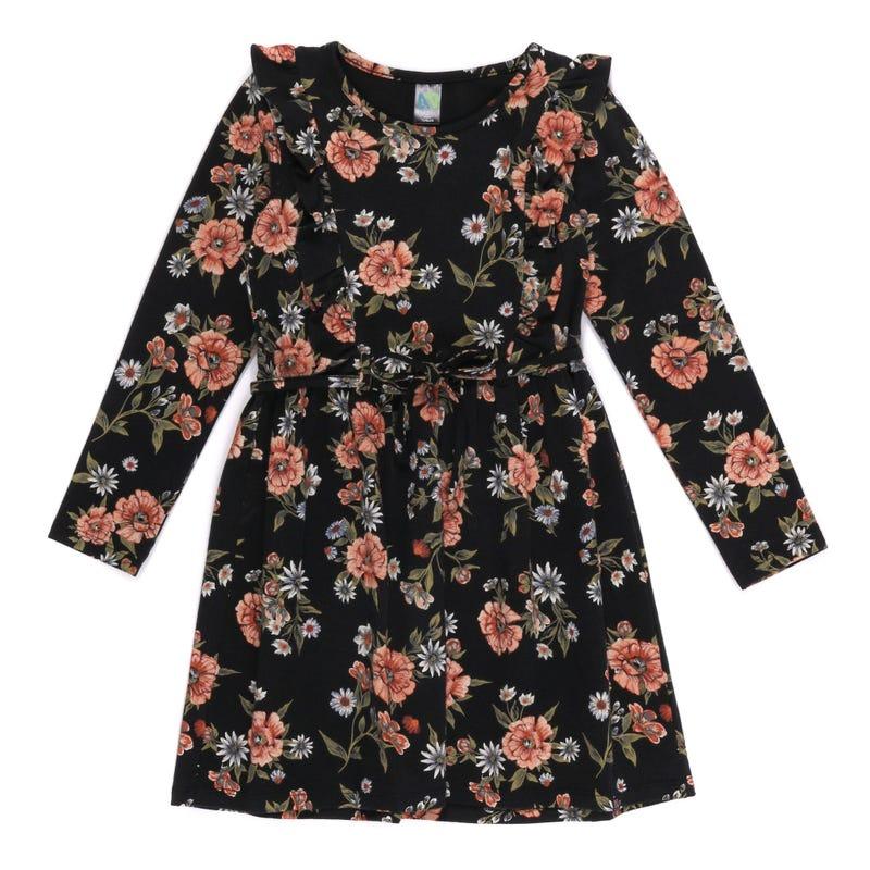 Robe Fleurs Bois 2-6ans
