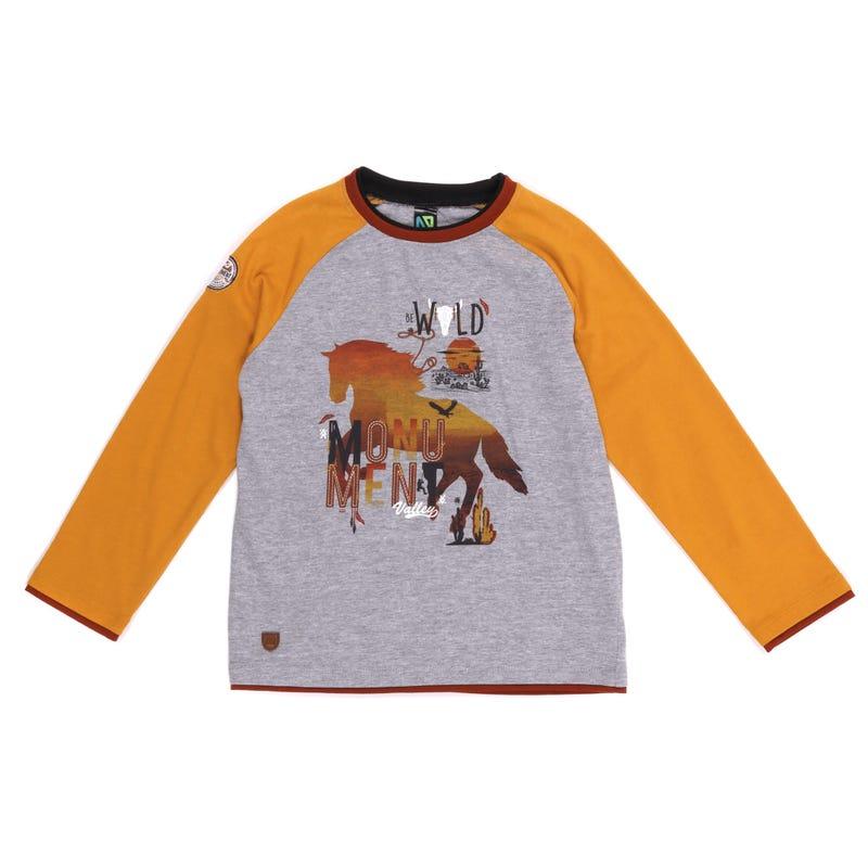 T-Shirt Raglan Ouest 7-12ans