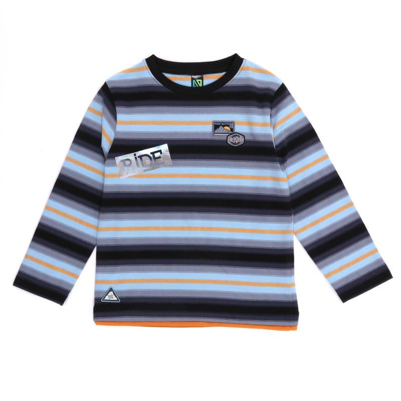 T-Shirt Rayé Altitude 7-12ans