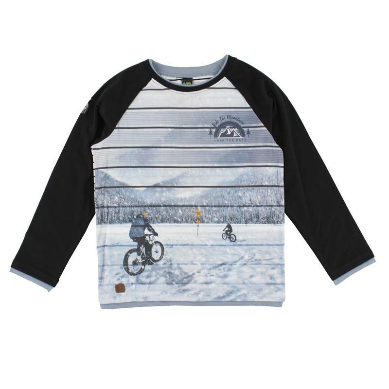 T-Shirt Raglan Altitude 7-12ans