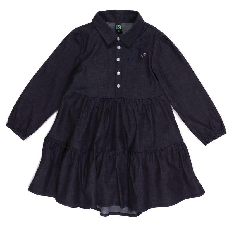 Country Denim Dress 7-12y